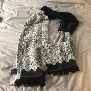 Anthropologie winter scarf
